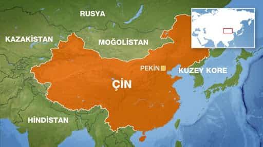 Çin Tekstil Haritası