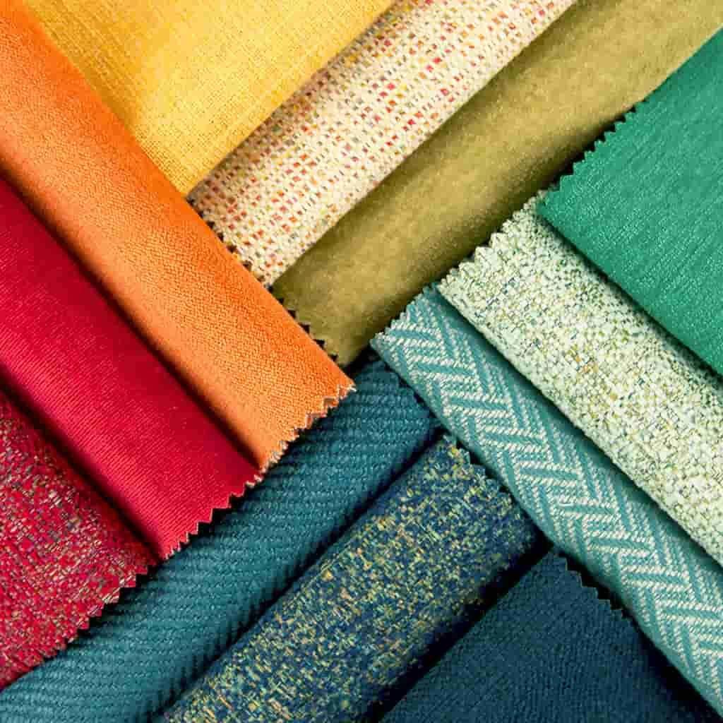 Kumaş Karışık Renkler