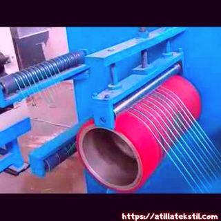 Tekstilde Kadife Dokuma Kumaş İçin İplik Aktarma Aparatı Makinesi