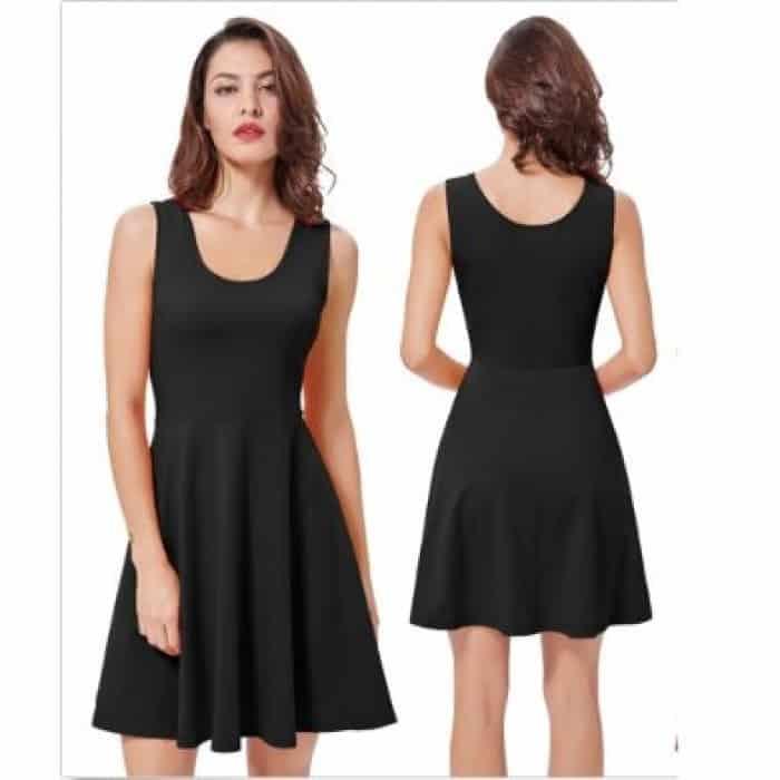 Siyah Çelik İnterlok Kumaş Elbise Nedir?