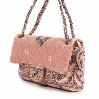 Chanel Kumaş Çanta Fiyatları ve Çeşitleri ve Model : Baskılı Desenli