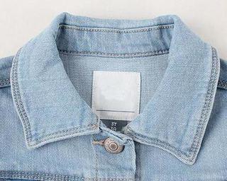Mavi Renk Kadın (Bayan) Toptan Kot Gömlek Yaka Çekimi