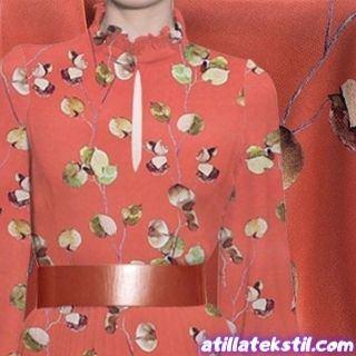 Elbiselik Coco Royal Krep Kumaş Çiçekli